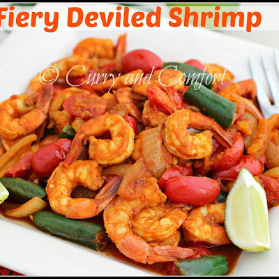 Fiery Deviled Shrimp Curry