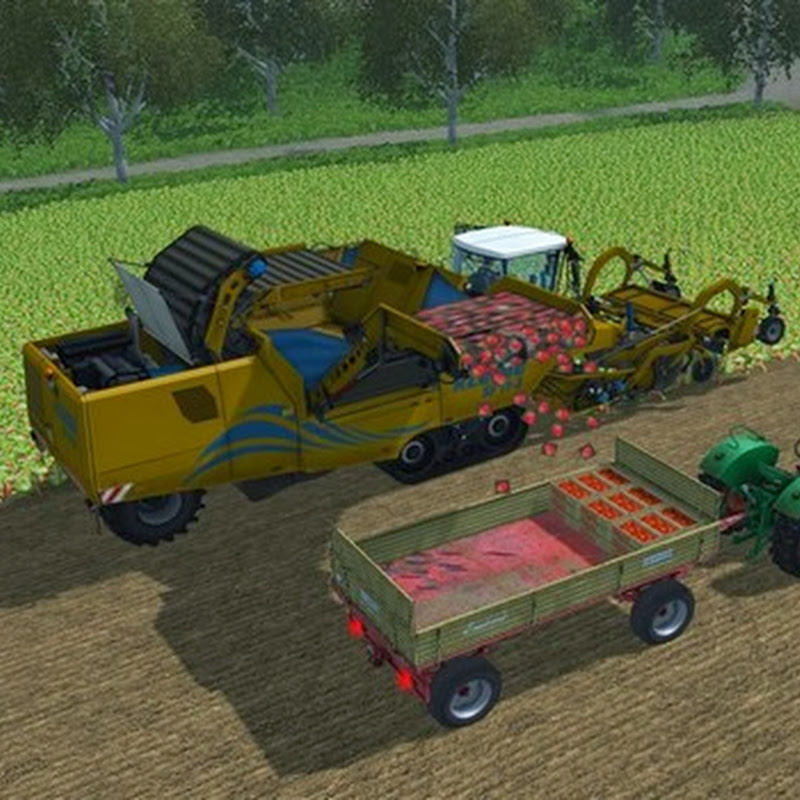 Farming simulator 2013 - Mod Pack kohlrabi strawberry v 2.1