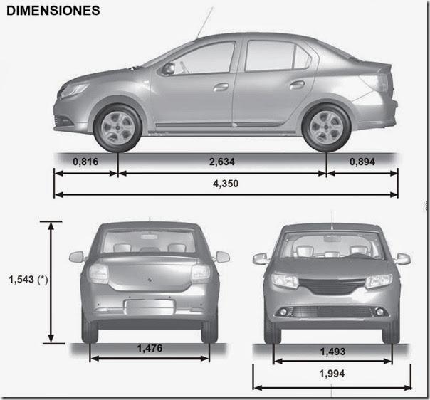 Dimensiones Del Aut6omovil Sentra Autos Post