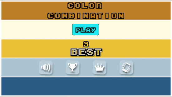 Color Combination Puzzle Game - screenshot
