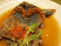 Chilled Crab with Chinese Wine Sauce