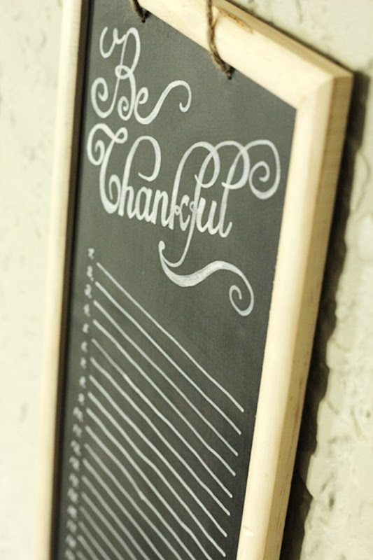 Be Thankful Gratitude Calendar