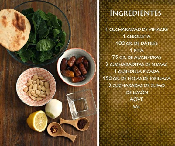 ensalada-espinacas-datiles-ingredientes