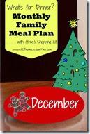 Meal Planner - December
