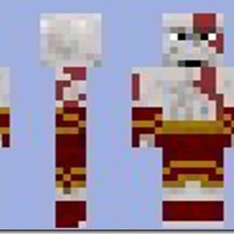 Minecraft 1.2.5 - Kratos Skins