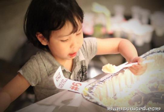 Children Chicken rice love