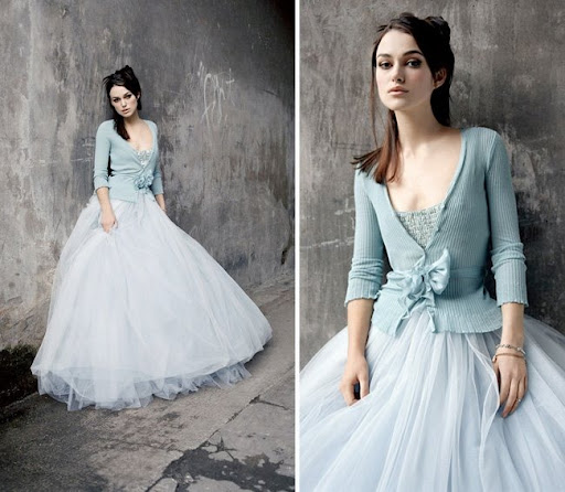 winterweddingdresses I love Keira 39s icy blue tulle dress it 39s