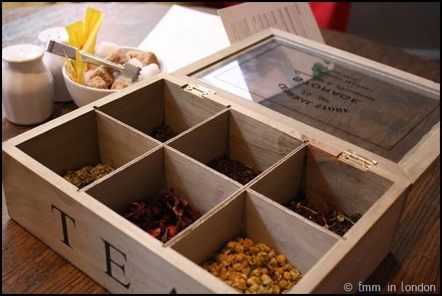 Rare Tea at Pantry 108 Marylebone Hotel