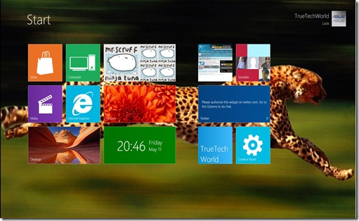 Windows 8 Transform Pack Metro Background