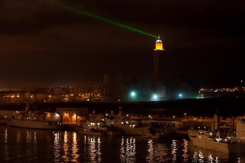 Третий день. Casablanca. Morocco. Круиз. Costa Concordia. Покидаем порт, прощальный взгляд на Касабланку.