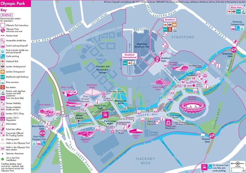 olimpiadi londra 2012 parco olimpico