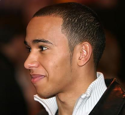 Lewis Hamilton buzz haircut