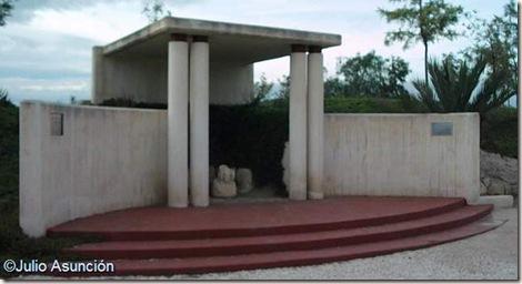 lugar de aparicin de la Dama de Elche - Yacimiento de la Alcudia