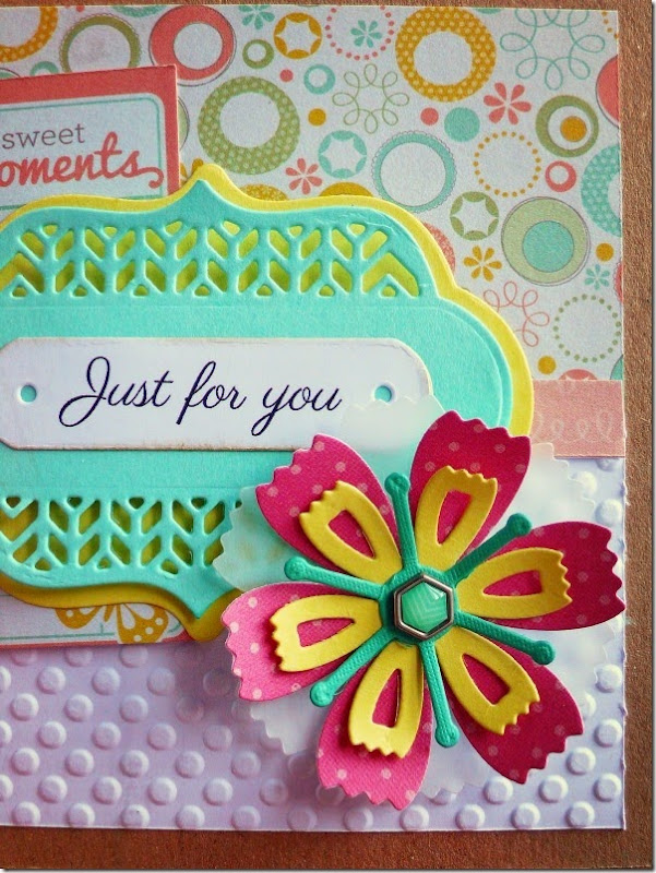 cafe creativo - big shot sizzix - card flower (2)