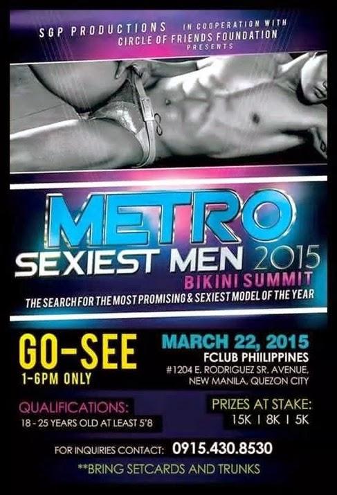 Metro Sexiest Men 2015 Go-See