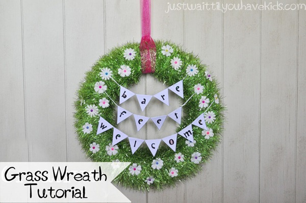 Grass Wreath Tutorial