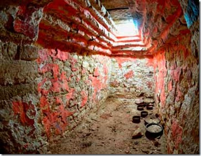 Maya tomb