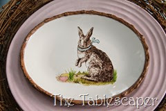 Rustic Rabbits Easter Tablescape - The Tablescaper12