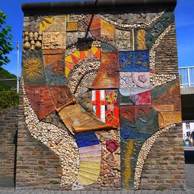 Designer Wall at Cochem
