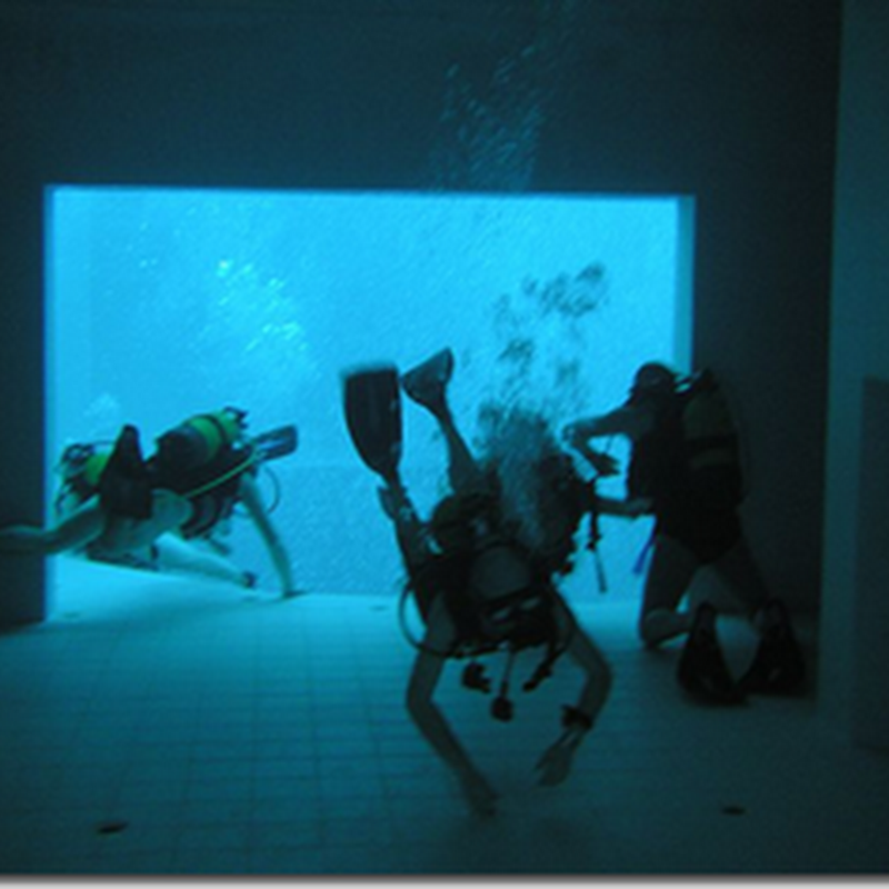 NEMO 33: THE WORLD'S DEEPEST INDOOR POOL