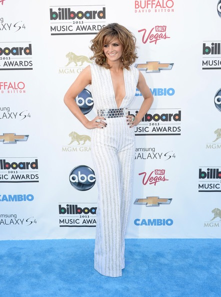 Stana Katic arrives at the 2013 Billboard Music Awards