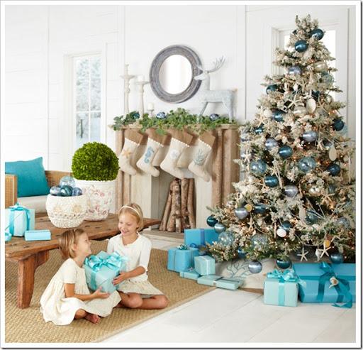 Coastal Christmas Trees - Sand and Sisal
