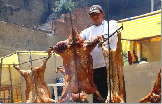 Ferias gastronómicas en Bolivia