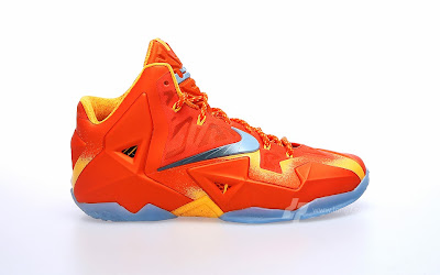 nike lebron 11 gr atomic orange 2 13 forging iron A Sizzling Look at Nike LeBron XI Forging Iron