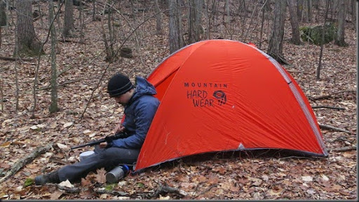 There is a surprising amount of light that comes into the tent largely through the transparent material where the tent poles are held in place. & Wood Trekker: Mountain Hardwear Direkt 2 Tent Long Term Review