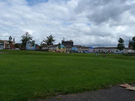 Imagini Belfast: cartier protestant