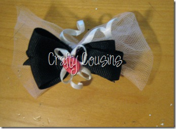 Tulle Bow (1)