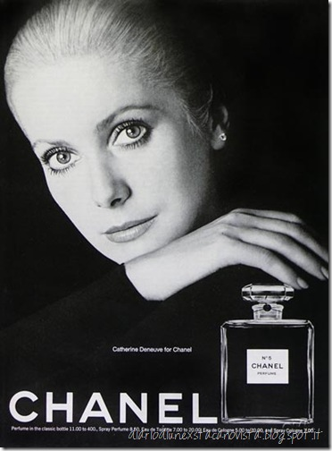 Catherine Deneuve for chanel