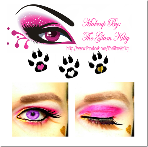 Draculaura 13 Wishes Makeup