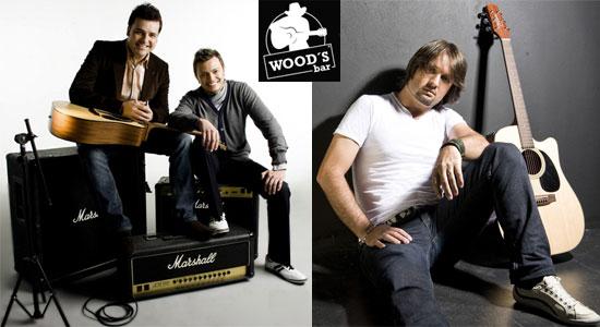 Eddy & Gil e Alexandre Cazarin no Wood's Bar em São Paulo