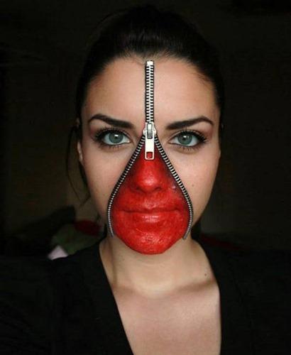 maquillaje miedo disfracesfaciles (9)