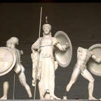 37.-Egina. Frontón dle templo de Aphaia