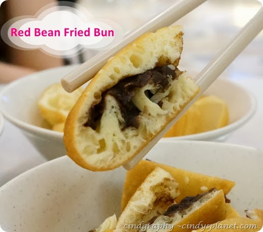 Red Bean Fried Bun