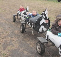 10.29.11 Cousins halloween get together Cody and Kyle  summer in the cow train1