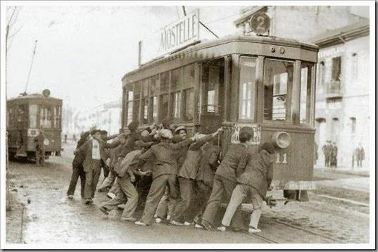 1932 jornada de huelga en el puerto