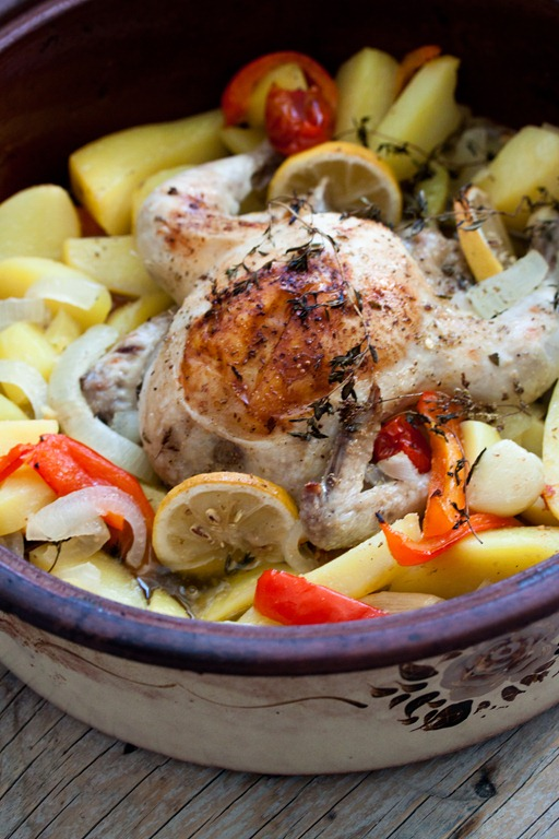 Κοτόπουλο λεμονάτο στη γάστρα2 (1 von 1)