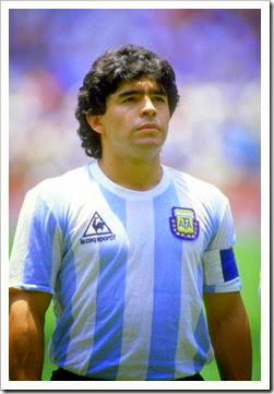 Diego Maradona the original Showstopper, Legend, Myth & Icon of Sports