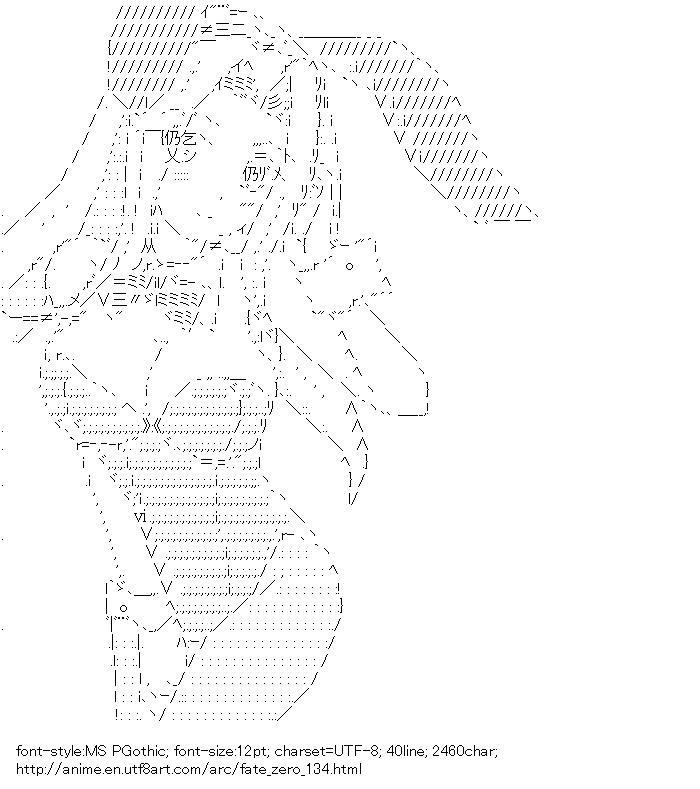 Fate/zero,Irisviel von Einzbern,Rabbit ears