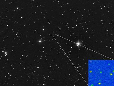 posição do cometa ISON