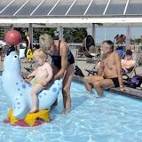 Camp Hverringe havde en rimeligt lækkert badeland, så der var vi inde og lege