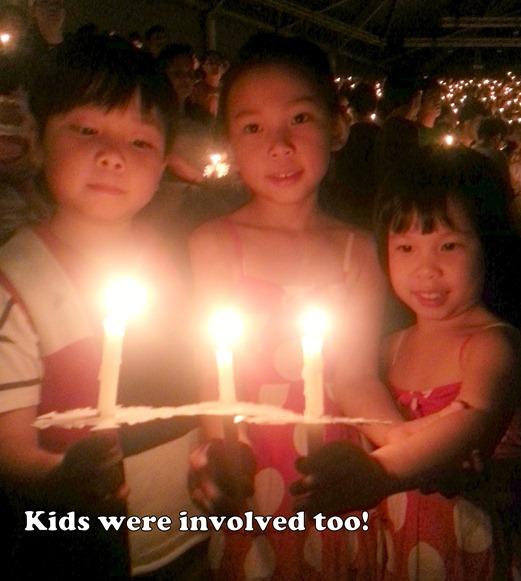 Candlelight CHC children