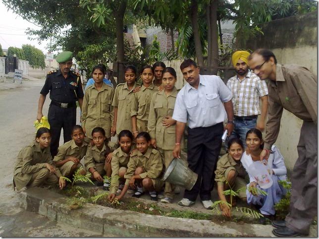 GHS Tejli_Tree Plantation_1