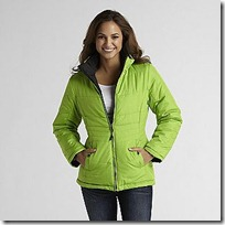 Athletech  Women's Reversible Puffy Jacket