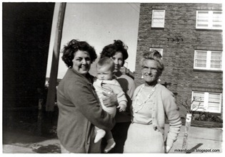 M   Marj, Mum & Nanty - the mothers-in-law