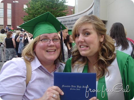 Rye and Mom with Diploma