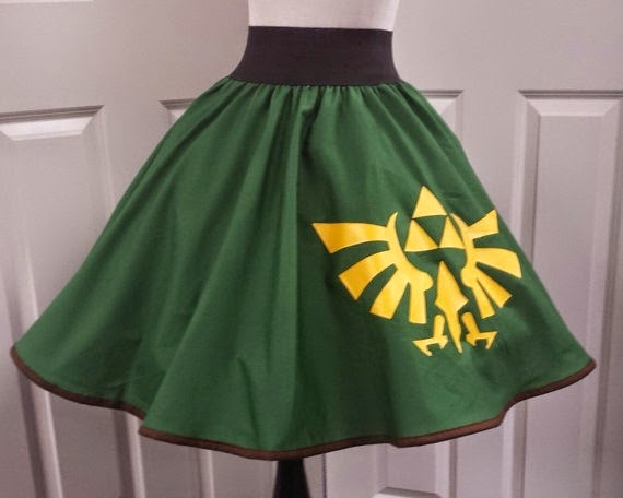 Legend of Zelda Skirt from Pandoras Productions